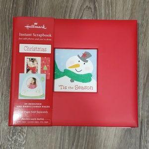 Hallmark Instant Christmas Scrapbook